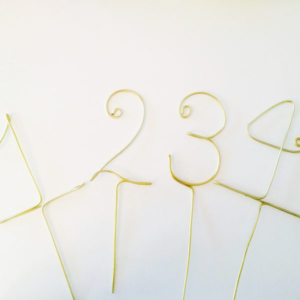 Tischnummern_draht